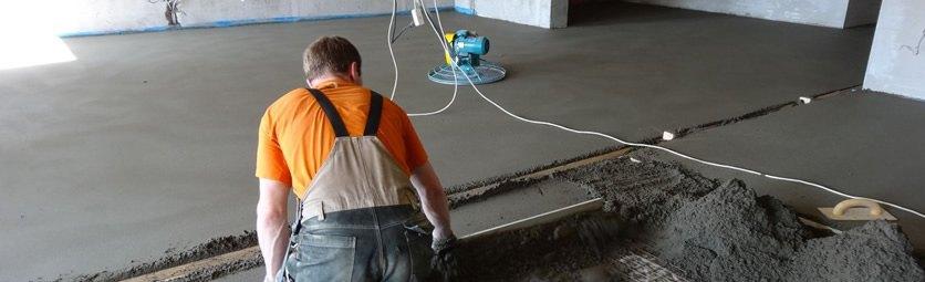 Технология ремонта - Устройство стяжки и гидроизоляции