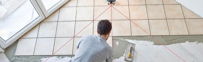 Технология ремонта - Укладка плитки