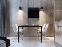 Идеи: 25 белых столовых с акцентами из дерева