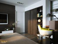 Идеи: 7 спален с акцентами на стенах
