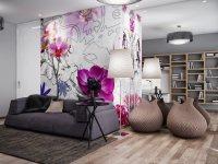 Идеи: большие картины в гостиных