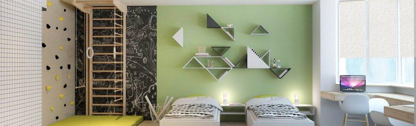 Идеи: дизайн-проект квартиры для многодетной семьи