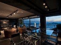Идеи: апартаменты Skyfall в темных тонах