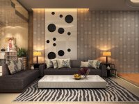 Идеи: 21 уютная гостиная с современными диванами