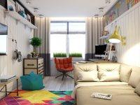 Идеи: яркие комнаты для творческих детей