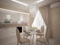 Дизайн-проект: Двухкомнатная в Доме на Набережной