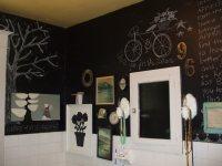 Идеи: мелом на стене