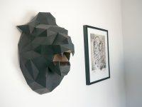 Идеи: полигональные фигуры в интерьере