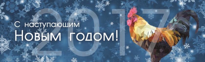 C Наступающим Новым годом и Рождеством!