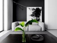Идеи: 30 черно-белых интерьеров - монохромное волшебство