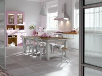 Идеи: розовая кухня