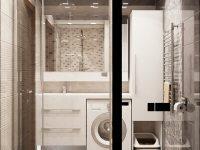 Дизайн-проект: Ванная комната