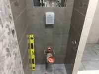 Фото до и во время ремонта: Ванная комната