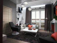 Дизайн-проект: Квартира для холостяка